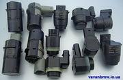 Парктроники БМВ,  датчики парковки BMW e46, e39, e38, e60, e65, e53 Х5 Е53;  Е70,  Е90.